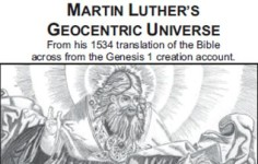 Martin Luthers Geocentric Universe