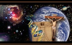 THE Gospel and Evolution Cosmic Evolution graphic 316 x 200 Bold